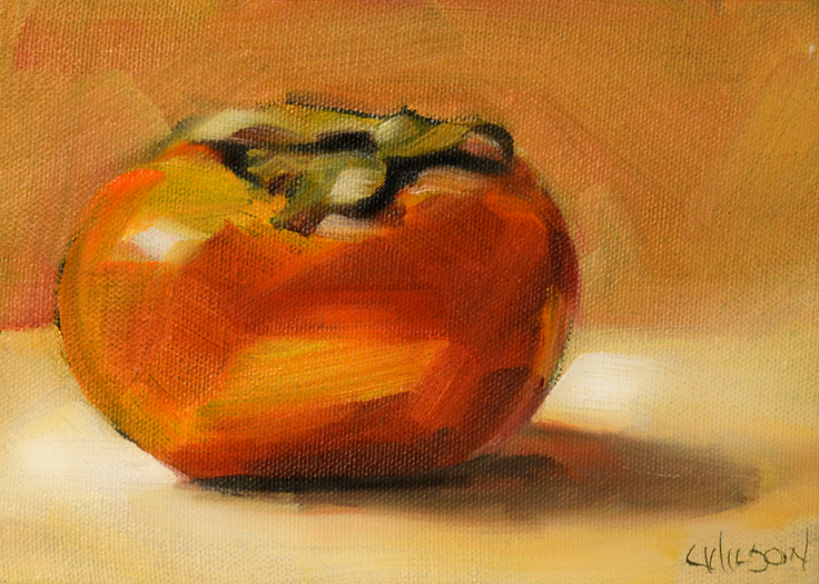 351 Persimmon on Gold